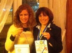 Nos Présidentes, Fatma Baccar et Elisabeth Burton